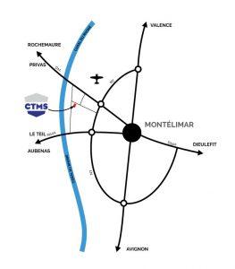 CTMS Chaudronnerie Plan Localisation Montélimar